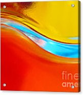 Colorful Wave Acrylic Print