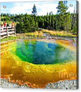 Colorful Yellowstone Acrylic Print