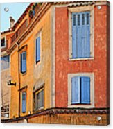 Colors In Provence Acrylic Print