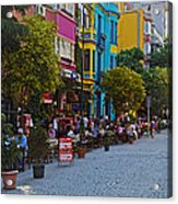 Colors Of Istanbul Street Life Acrylic Print