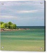 Colors Of Lake Superior Shores Acrylic Print