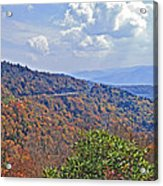 Colors Of Nature Acrylic Print