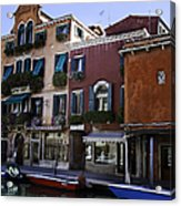 Colors Of Venice Acrylic Print