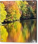 Colorwash On The Pond Acrylic Print