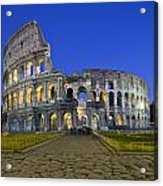 Colosseum At Blue Hour Acrylic Print