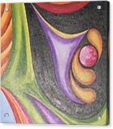 Colourful Wind Acrylic Print