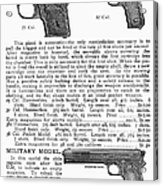 Colt Automatic Pistols Acrylic Print