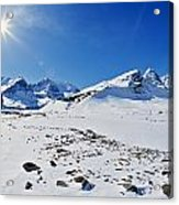 Columbia Icefield In Winter, Jasper Acrylic Print