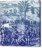 Columbus Arrested Acrylic Print