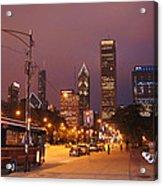Columbus Avenue Acrylic Print