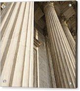 Columns Of The Supreme Court Acrylic Print