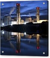 Combined Cycle Gas Turbine Power Station Acrylic Print