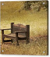 Come And Sit A Spell Acrylic Print