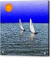 Come Sail Away With Me Acrylic Print
