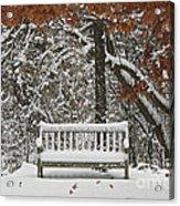 Come Sit Awhile Acrylic Print