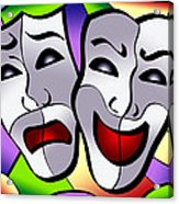 Comedy And Tragedy Acrylic Print