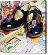 Comic Shoes Acrylic Print
