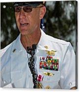 Command Master Chief Bryan Yarbro Acrylic Print