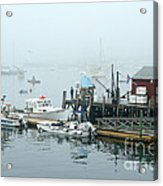 Commercial Lobster Dock Acrylic Print