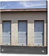 Commercial Storage Facility Acrylic Print by Paul Edmondson