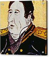 Commodore Matthew C. Perry 1794-1858 Acrylic Print