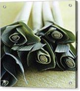 Common Leeks Acrylic Print