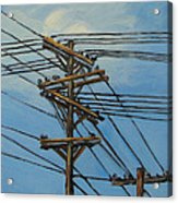 Communication Acrylic Print by Torrie Smiley