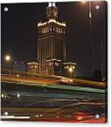 Communist Era Built Palace Of Culture Acrylic Print