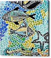 Comotion In The Ocean Acrylic Print