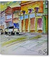 Company Street Acrylic Print