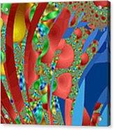 Complex Garden Acrylic Print