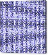 Complex Maze Acrylic Print