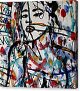 Complicated Woman Acrylic Print