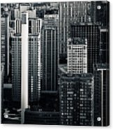 Compressed Architecture Acrylic Print