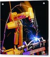 Computer-controlled Arc-welding Robot Acrylic Print