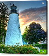 Concord Point Lighthouse 2 Acrylic Print