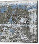 Concrete Blue 1 Acrylic Print