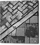 Concrete Tile - Abstract Acrylic Print