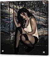 Concrete Velvet 22 Acrylic Print