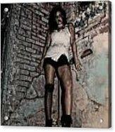 Concrete Velvet 38 Acrylic Print
