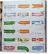 Condom Compendium Sign Thailand Acrylic Print