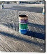 Coney Island Boardwalk Acrylic Print