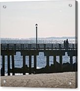 Coney Island Coast Acrylic Print