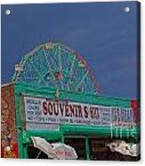 Coney Island Facade Acrylic Print