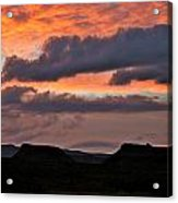 Conflicting Cloud Covers Acrylic Print