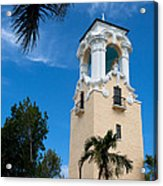 Congregational Church Of Coral Gables Acrylic Print
