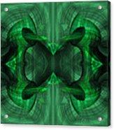 Conjoint - Emerald Acrylic Print
