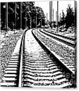 Conneticut Railway Acrylic Print