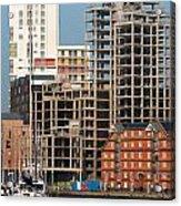 Construction In Progress Acrylic Print