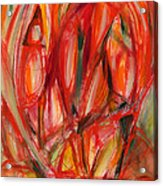 Contemporary Painting Three Acrylic Print